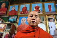 Ashin Wirathu is the most vocal advocator of  the 969 movement that encourages Buddhists to only shop at Buddhist owned shops with stickers to identify them. Wirathu claims there is a growing threat of Muslims trying to convert Myanmar to Islam by marrying with Buddhist women. Not all the head monks at Mae Soe Yein monastery support Wirathu's views on Islam.