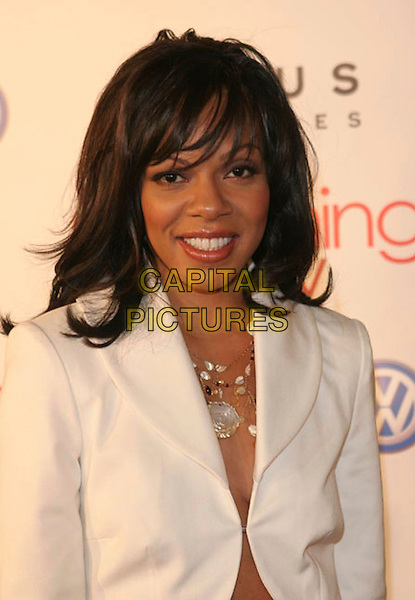 """WENDY RAQUEL ROBINSON.""""Something New"""" Los Angeles Premiere held at The Cinerama Dome, Hollywood, California..January 24th, 2006.Photo: Zach Lipp/AdMedia/Capital Pictures.Ref: ZL/ADM.headshot portrait.www.capitalpictures.com.sales@capitalpictures.com.© Capital Pictures."""