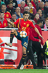 Spain's Jesus Navas  during the qualifying match for Euro 2020 on 23th March, 2019 in Valencia, Spain. (ALTERPHOTOS/Alconada)