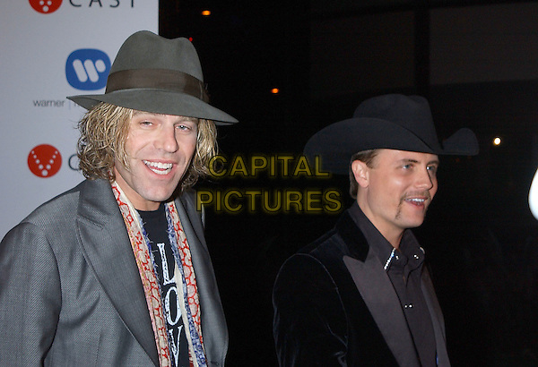 BIG & RICH.2005 Warner Music Group Post Grammy Party held at the Pacific Design Centre. .February 13th, 2005.Photo Credit: J.J. SansoneAdMedia.headshot portrait hat.www.capitalpictures.com.sales@capitalpictures.com.© Capital Pictures.
