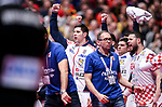 18.01.2020., Austria, Vienna, Wiener Stadthalle - European Handball Championship, Group I, Round 2, Croatia - Germany. Croatia celebrate<br /> <br /> Foto © nordphoto / Luka Stanzl/PIXSELL