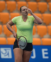 Rotterdam, Netherlands, December 14, 2016, Topsportcentrum, Lotto NK Tennis,   Mandy Wagemaker (NED)<br /> Photo: Tennisimages/Henk Koster