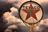 Texaco Sign Vintage Kentucky