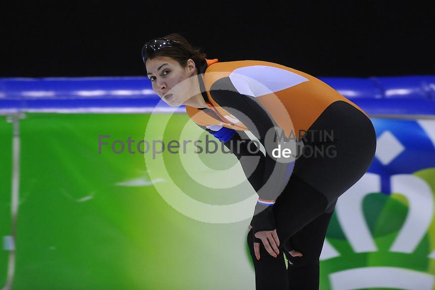 SCHAATSEN: HEERENVEEN: 01-02-2014, IJsstadion Thialf, Olympische testwedstrijd, Margot Boer, ©foto Martin de Jong