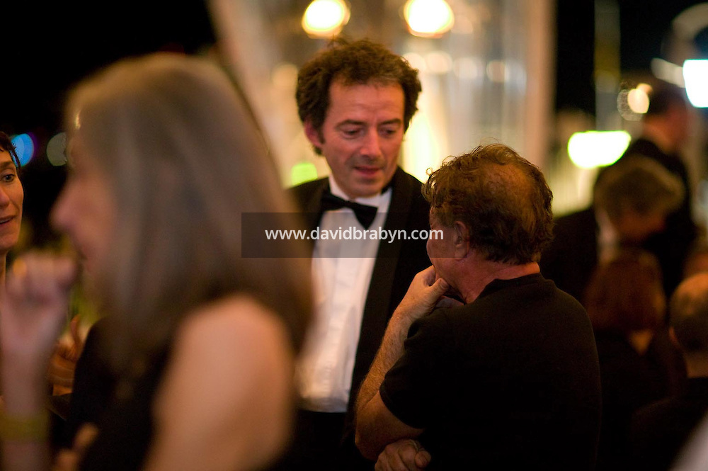 , diner, 20 ans de la Fondation Groupama-Gan pour le Cinema, Cannes, France, 18 mai 2007.