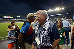 KANSAS CITY, KS - SEPTEMBER 20: SKC co-owner Pat Curran. Sporting Kansas City hosted the New York Red Bulls on September 20, 2017 at Children's Mercy Park in Kansas City, KS in the 2017 Lamar Hunt U.S. Open Cup Final. Sporting Kansas City won the match 2-1.