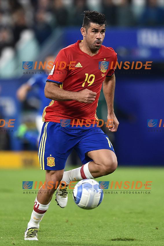 Diego Costa Spain <br /> Torino 06-10-2016 Juventus Stadium <br /> World Cup Qualifiers Italy - Spain / Italia - Spagna. Foto Andrea Staccioli / Insidefoto