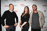 Phil Schwarz, Rosette Pambakian, Josh Metz<br /> TINDER ARTS & CINEMA CENTRE hosts the cast party for TIG & PEOPLE PLACES AND THINGS, Vinto, Park City, UT 01-25-15<br /> David Edwards/DailyCeleb.com 818-915-4440