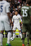 Cristiano Ronaldo of Real Madrid in action during the 2016-17 UEFA Champions League match between Real Madrid and Legia Warszawa at the Santiago Bernabeu Stadium on 18 October 2016 in Madrid, Spain. Photo by Diego Gonzalez Souto / Power Sport Images