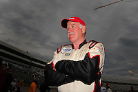 May 31, 2008; Dover, DE, USA; Nascar Nationwide Series driver Brad Teague during the Heluva Good 200 at the Dover International Speedway. Mandatory Credit: Mark J. Rebilas-