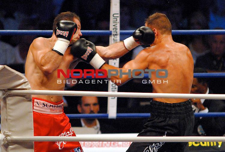 WBC Light Heavyweight Championship<br /> Koenig - Pilsener Arena Oberhausen<br /> Zsolt Erdei ( Hungary) vs . Thomas Ulrich ( Germany )  <br /> Punktsieger  Zsolt Erdei ,in der roten Hose,  war immer her im Ring gegen  Thomas Ulrich .<br /> Foto :&copy; nordphoto <br /> <br /> <br /> <br /> <br /> <br /> <br /> <br />  <br /> <br /> <br /> <br /> <br /> Foto :&copy; nordphoto <br /> <br /> <br /> <br />  *** Local Caption *** Foto ist honorarpflichtig! zzgl. gesetzl. MwSt.<br /> <br /> <br /> <br /> Belegexemplar erforderlich