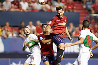 Xisco (forward; CA Osasuna) during the Spanish <br /> la League soccer match between CA Osasuna and Elche CF at Sadar stadium, in Pamplona, Spain, on Saturday, <br /> agost 26, 2018.