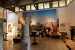 The Golan Heights. Golan Archaeological Museum in Katzrin