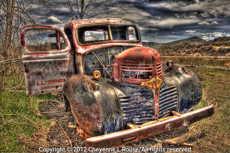 Old Dodge delivery truck - Park City, Utah