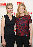 Cynthia Nixon and Laura Linney attend the cast photo call for the Manhattan Theatre Club's New Broadway Production of 'The Little Foxes' at the MTC Rehearsal studios on February 27, 2017 in New York City.