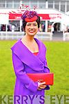 Joan McCarthy Best Dressed Lady, Listowel at Listowel Races Ladies Day on Sunday.