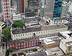 The Former Central Police Station & Victoria Prison.  The Central Magistracy Is Also Part Of The Complex But Is Out Of Frame To The Right.  (This was prior to the HKJC's massive restoration project completed in May 2018.)