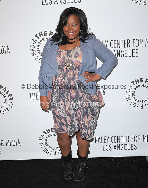 Amber Riley at The PaleyFest 2011 Panel for Glee held at The Saban Theater in Beverly Hills, California on March 16,2011                                                                               © 2010 Hollywood Press Agency