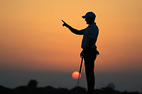Richard McEvoy (ENG) during the first round of the NBO Open played at Al Mouj Golf, Muscat, Sultanate of Oman. <br /> 15/02/2018.<br /> Picture: Golffile   Phil Inglis<br /> <br /> <br /> All photo usage must carry mandatory copyright credit (&copy; Golffile   Phil Inglis)