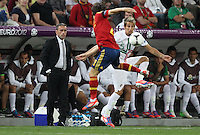 Head coach of Portugal Paulo Bento and defender of the national team of Portugal Fábio Coentrão â?-5.