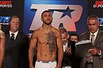 Vasyl Lomachenko venció en diez rounds a Jorge Linares. Título Mundial ligero de la AMB. Madison Square Garden de Nueva York.