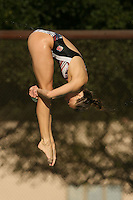 STANFORD, CA - JANUARY 22:  Carmen Stellar of the Stanford Cardinal during Stanford's 173-125 win over Arizona on January 22, 2010 at the Avery Aquatic Center in Stanford, California.