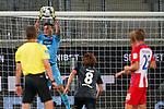 Kevin Müller / Mueller (1. FC Heidenheim 1846 #01), Yuya Osako (Werder Bremen #08)<br /> <br /> <br /> Sport: nphgm001: Fussball: 1. Bundesliga: Saison 19/20: Relegation 02; 1.FC Heidenheim vs SV Werder Bremen - 06.07.2020<br /> <br /> Foto: gumzmedia/nordphoto/POOL <br /> <br /> DFL regulations prohibit any use of photographs as image sequences and/or quasi-video.<br /> EDITORIAL USE ONLY<br /> National and international News-Agencies OUT.