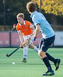 BLOEMENDAAL  -  Job Holland (Bl'daal) , competitiewedstrijd junioren  landelijk  Bloemendaal JA1-Nijmegen JA1 (2-2) . COPYRIGHT KOEN SUYK