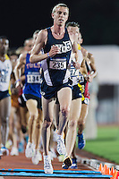 Jason Witt of BYU competes in 10000 meter semifinal during West Preliminary Track and Field Championships, Friday, May 29, 2015 in Austin, Tex. (Mo Khursheed/TFV Media via AP Images)