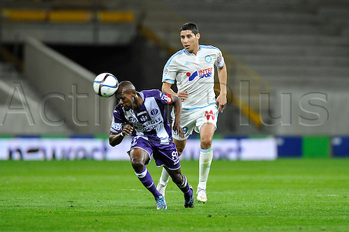 23.09.2015. Toulouse, France. French League 1 football. Toulouse versus Marseille.  Jean Daniel Akpa Akpro (tfc)