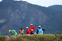 (L-R) Shingo Katayama (JPN),   , AUGUST 11, 2016 - Golf : Men's Individual Stroke Play First Round at Olympic Golf Course during the Rio 2016 Olympic Games in Rio de Janeiro, Brazil. (Photo by Koji Aoki/AFLO SPORT)