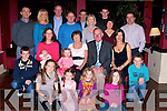 The Hennebery Family from Tralee who went outr for a meal to O'Donnell's Bar & Restaurant Mounthawk, Tralee on Tuesday night to celebrate Michael Hennebery's Birthday.   ..........