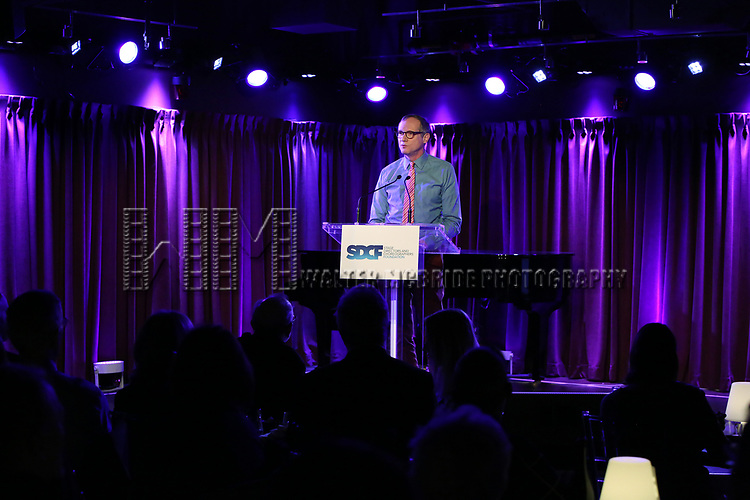 Mark Brokaw on stage during the Second Annual SDCF Awards, A celebration of Excellence in Directing and Choreography, at the Green Room 42 on November 11, 2018 in New York City.