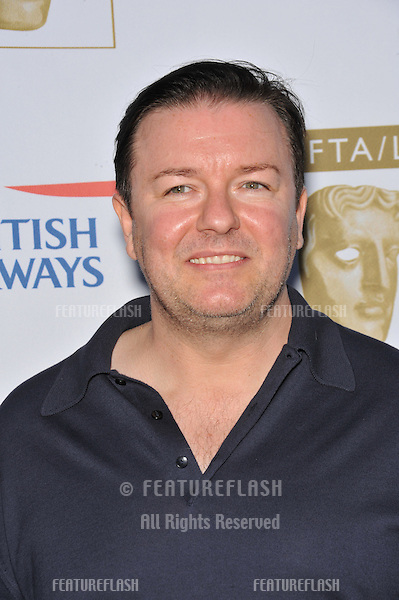 Ricky Gervais at BAFTA/LA's sixth annual TV Tea Party to celebrate the Emmys at the Intercontinental Hotel, Century City..September 20, 2008  Los Angeles, CA.Picture: Paul Smith / Featureflash