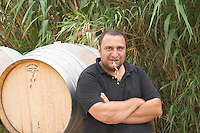 Pierre Quinonero Domaine de la Garance. Pezenas region. Languedoc. Owner winemaker. France. Europe.