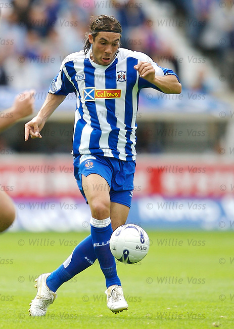 Danny Invincibile, Kilmarnock.stock season 2006-2007.pic willie vass