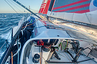 Onboard the IMOCA 60 Groupe APICIL