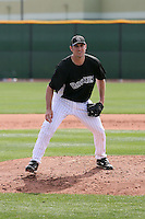 Rhett Ballard #87 of the Colorado Rockies participates in minor league spring training workouts at the Rockies complex  in Scottsdale, Arizona. .Photo by:  Bill Mitchell/Four Seam Images.