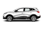 Car Driver side profile view of a 2015 Renault Kadjar Bose Edition 5 Door Suv 2WD Side View