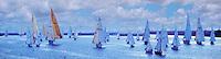 Marina Del Rey, CA, USA, Sailing, Southern California, Santa Monica Bay, Panorama, Beautiful, South Bay, SoCal, Motor Boating, Power Yachts, Transportation