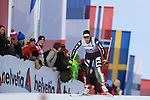 03/01/2014, Dobbiaco, Toblach - 2014 Cross Country Ski World Cup Tour de ski <br /> Ilaria Debertolis in action during the Ladies 15 km Free Pursuit in Dobbiaco, Toblach, Italy on 03/01/2014.