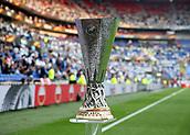 16th May 2018, Stade de Lyon, Lyon, France; Europa League football final, Marseille versus Atletico Madrid; Europa League Trophy on display before kick off