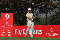 Lee Sung (KOR) on the 9th during Round 4 of the 2013 Avantha Masters, Jaypee Greens Golf Club, Greater Noida, Delhi, 17/3/13..(Photo Jenny Matthews/www.golffile.ie)