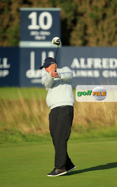 Ronnie Armist during Round 1of the Alfred Dunhill Links Championship at Kingsbarns Golf Club on Thursday 26th September 2013.<br /> Picture:  Thos Caffrey / www.golffile.ie