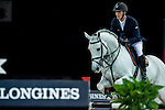 Olivier Philippaerts of Belgium riding Cabrio van de Heffinck in action during the Gucci Gold Cup as part of the Longines Hong Kong Masters on 14 February 2015, at the Asia World Expo, outskirts Hong Kong, China. Photo by Johanna Frank / Power Sport Images