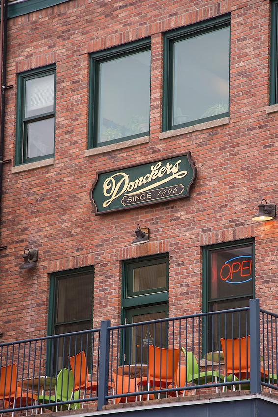 Donckers Restaurant and Soda Fountain, Marquette, Michigan.