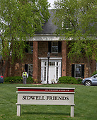 Sidwell Friends School; 3825 Wisconsin Avenue, Northwest; Washington, DC 20016 on April 22, 2019.<br /> Credit: Ron Sachs / CNP<br /> (RESTRICTION: NO New York or New Jersey Newspapers or newspapers within a 75 mile radius of New York City)