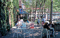 Seattle: Occidental Park, 1972. Occidental between Washington & Main.  Photo '86.