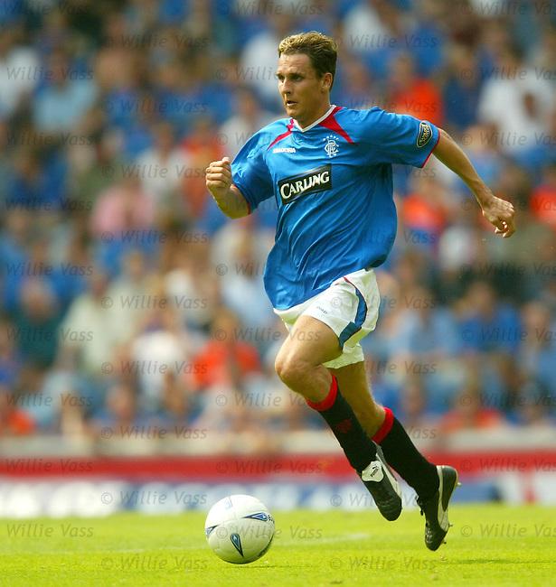 Peter Lovenkrands, Rangers.stock season 2003-04..pic willie vass