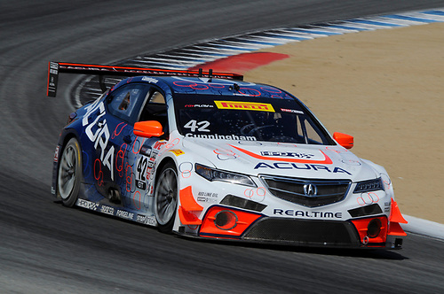 10-13 September, 2015, Monterey, California, USA<br /> #42 Peter Cunningham, Acura TLX-GT<br /> © 2015, Jay Bonvouloir, ESCP